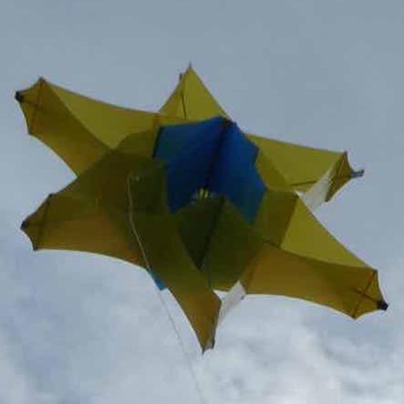 Dan's Asteroid kite