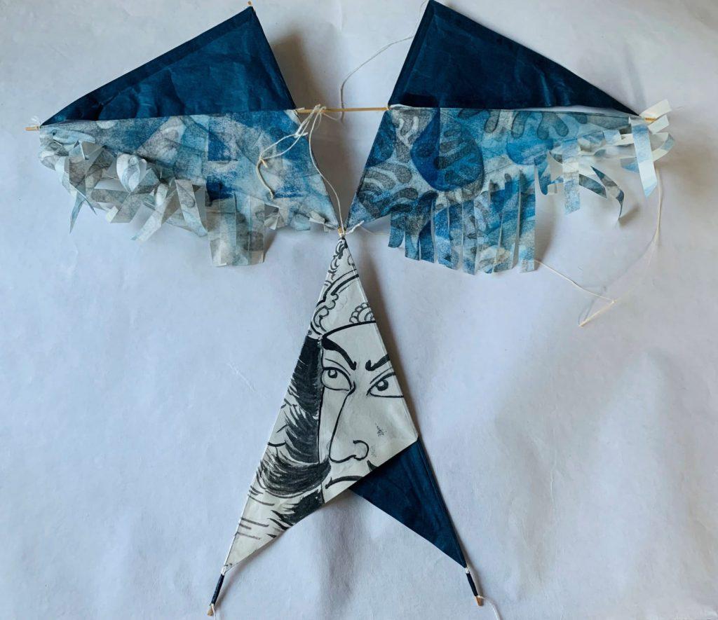 3-Stick Magic Kite